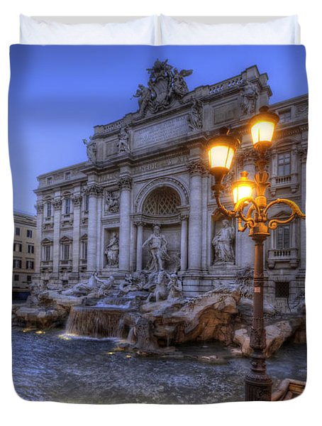Fontana Di Trevi 3.0 Duvet Cover