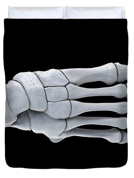 Foot Bones Duvet Cover
