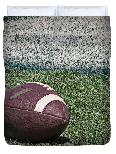 An American Football Duvet Cover