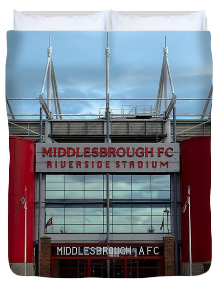 Football Stadium - Middlesbrough Duvet Cover