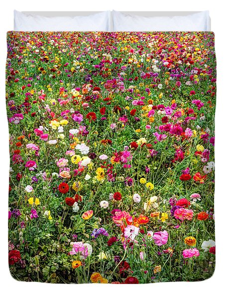 For As Far As The Eye Can See Duvet Cover by Heidi Smith