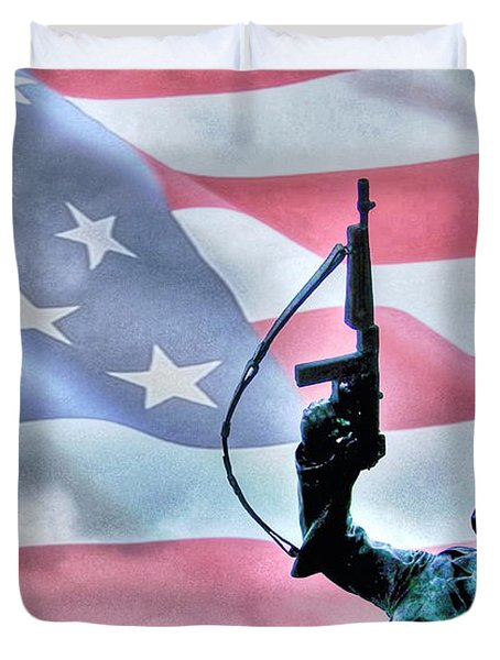 For Freedom Duvet Cover by Dan Stone