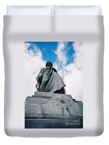 For Israel Tikkun Duvet Cover