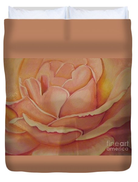 For My Love Duvet Cover by Bernie Bishop