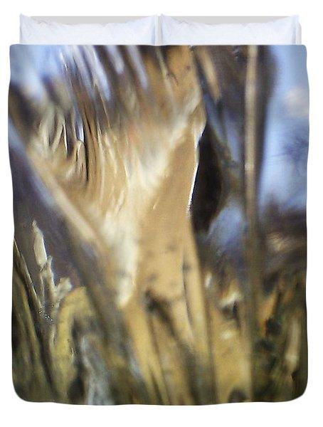 Forbidden Forest Duvet Cover by Martin Howard
