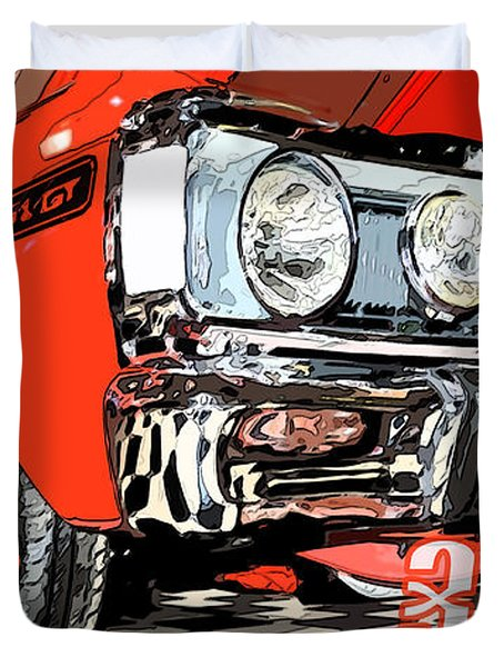 Ford  Gt Duvet Cover