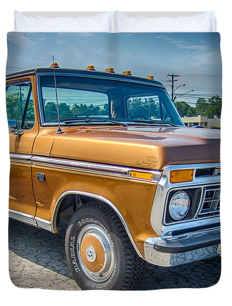 Ford F-100 7p00531h Duvet Cover