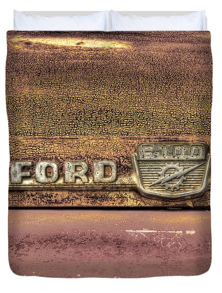 Ford F-100 Duvet Cover