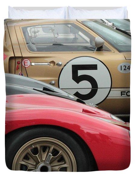 Ford Gt 40's Duvet Cover