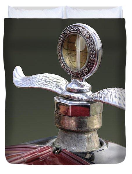 Ford Modell T Ornament Duvet Cover by Heiko Koehrer-Wagner