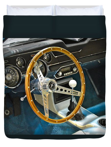 Ford Mustang Shelby Duvet Cover