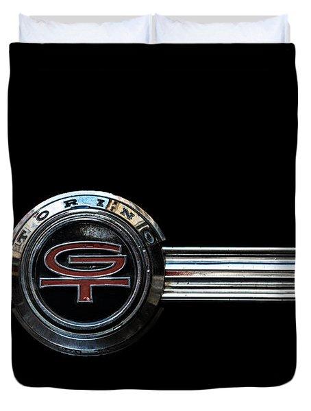 Ford Torino G.t.390 Duvet Cover
