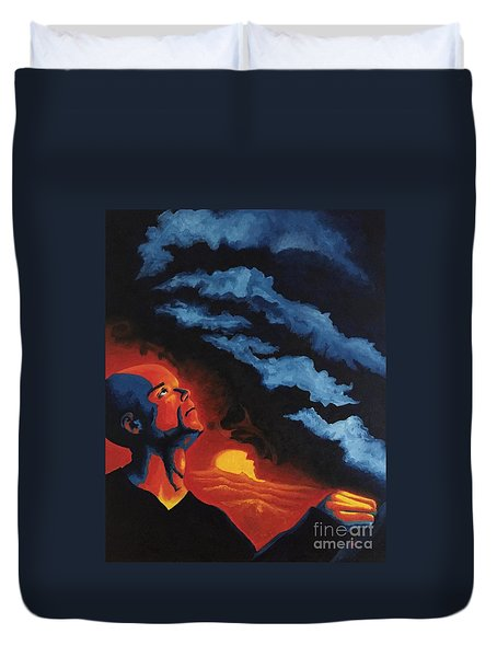 Foreseen Duvet Cover by Michael  TMAD Finney
