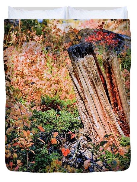Forest Floral Duvet Cover