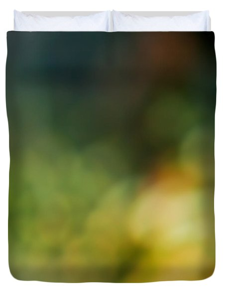 Duvet Cover featuring the photograph Forest by Liz  Alderdice