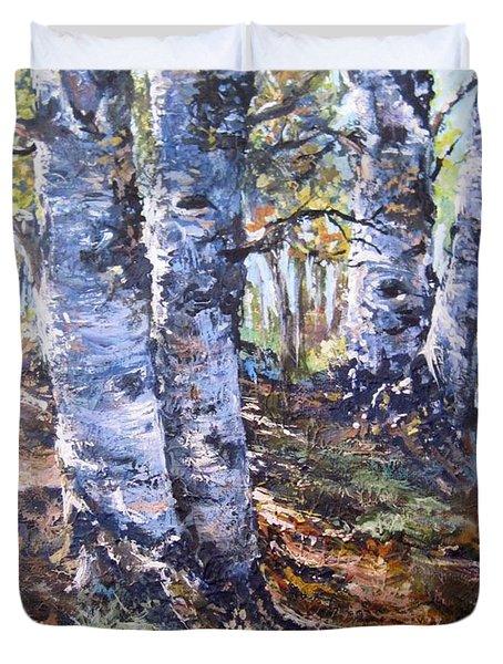 Forest Walk Duvet Cover