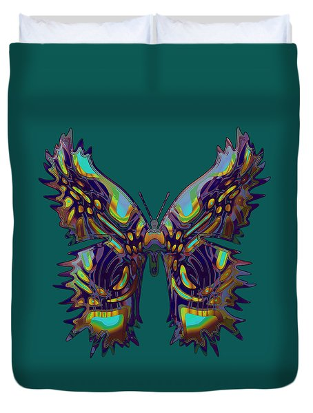 Forestfly Butterfly Duvet Cover