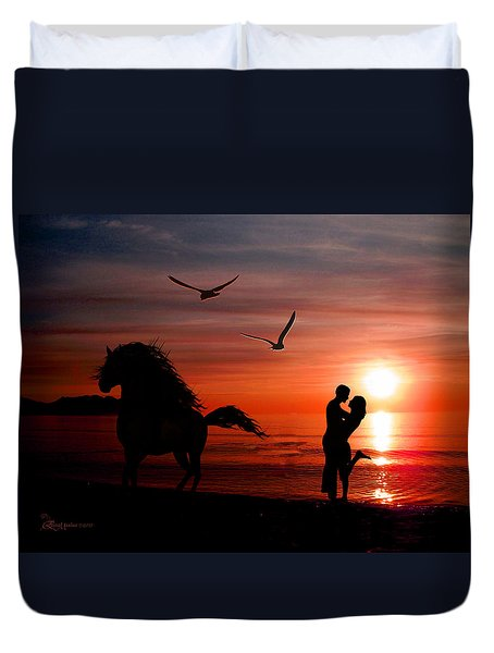 Forever And A Day Duvet Cover by EricaMaxine  Price