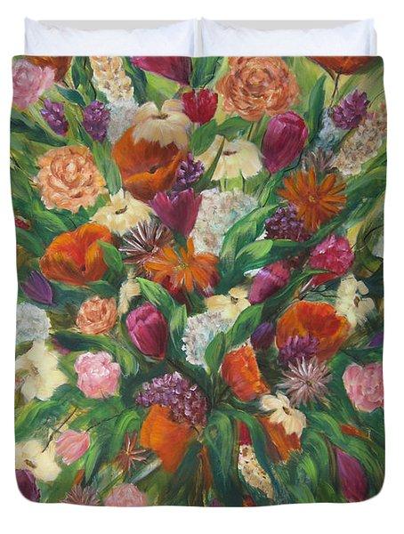 Forever In Bloom Duvet Cover