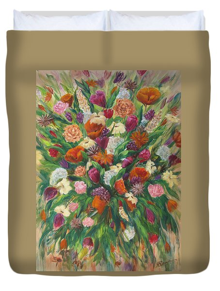 Forever In Bloom Duvet Cover