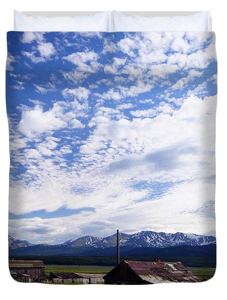Forever Sky Duvet Cover by Jeremy Rhoades