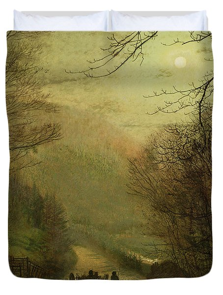 Forge Valley, Scarborough Duvet Cover