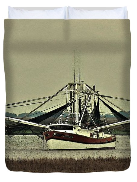 Duvet Cover featuring the photograph Forgiven by Laura Ragland