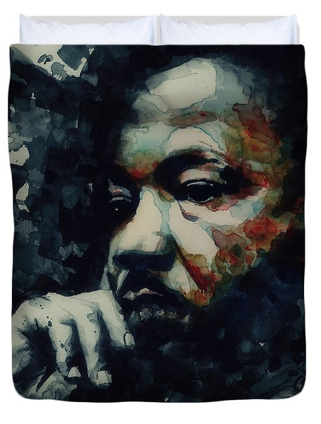 Martin Luther King -forgiveness Is Not An Occasional Act It Is A Constant Attitude Duvet Cover
