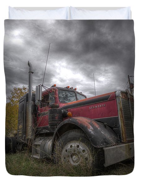 Forgotten Big Rig 2014 V2 Duvet Cover