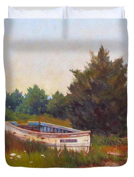 Forgotten Dory Duvet Cover by Dianne Panarelli Miller
