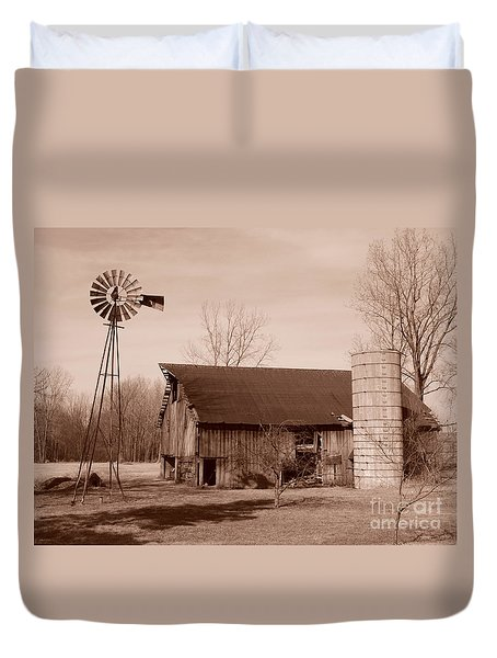 Forgotten Farm Duvet Cover by Judy Whitton