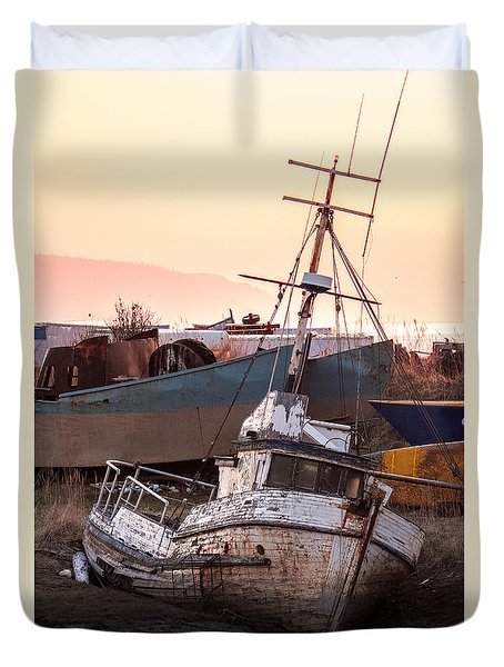 Forgotten In Homer Duvet Cover