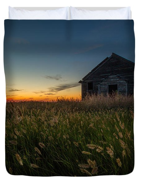 Forgotten On The Prairie Duvet Cover