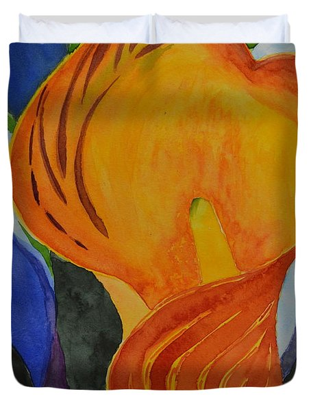 Form Duvet Cover by Beverley Harper Tinsley