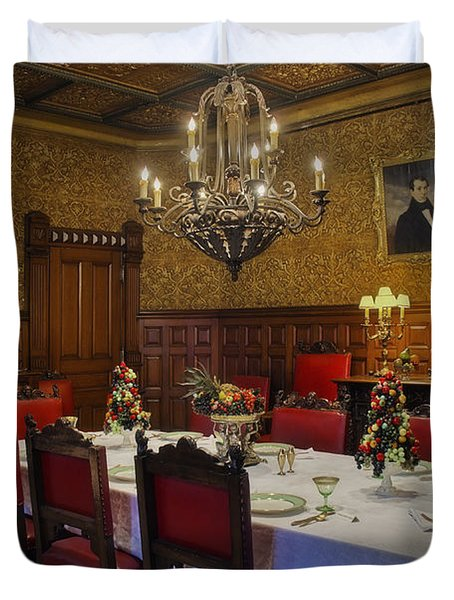 Formal Dining Room Duvet Cover by Susan Candelario