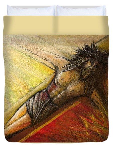 Psalm 22 Forsaken Duvet Cover