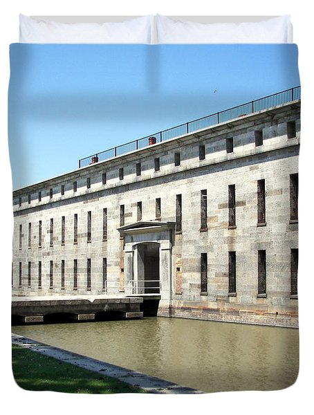 Fort Delaware Sally Port Entrance Duvet Cover