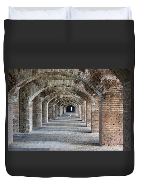 Fort Jefferson Arches Duvet Cover