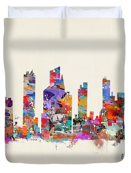 Fort Lauderdale Florida Duvet Cover