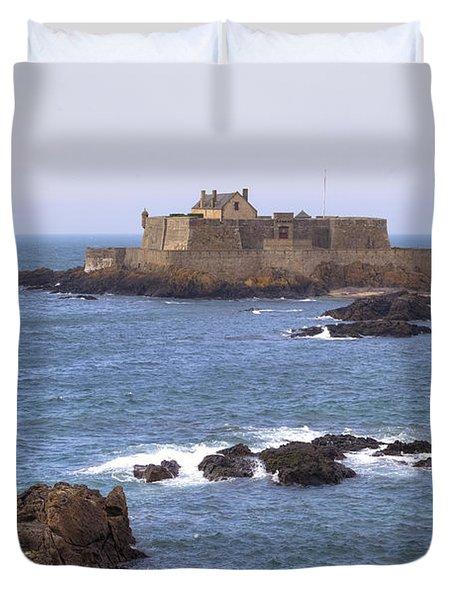 Fort National - Saint-malo Duvet Cover by Joana Kruse