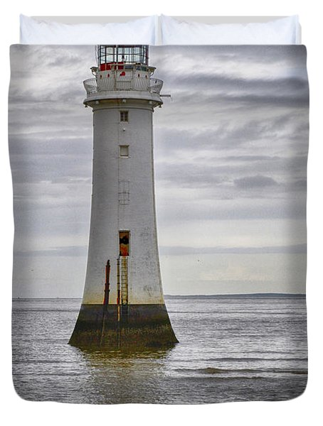 Fort Perch Lighthouse Duvet Cover