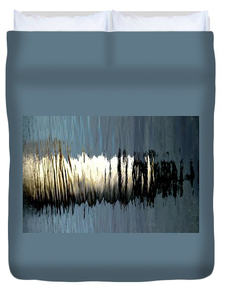 Fort Pickering Light Duvet Cover by Mike Martin