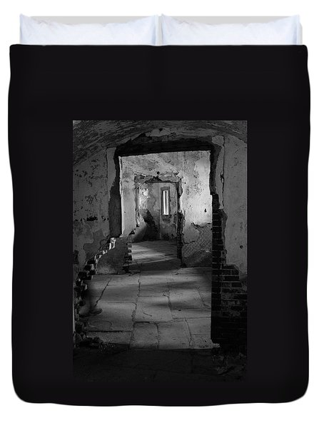Fort Warren Duvet Cover