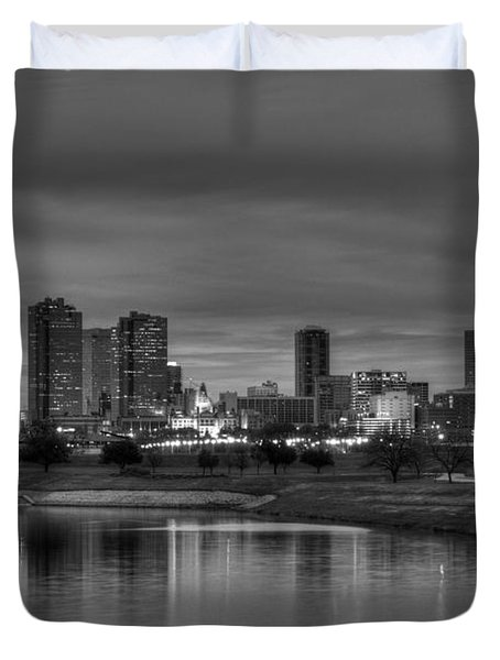 Fort Worth Duvet Cover