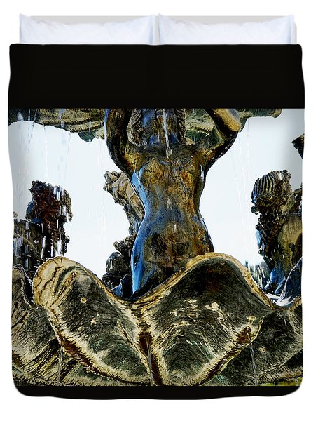 Fountain Of Youth II Duvet Cover