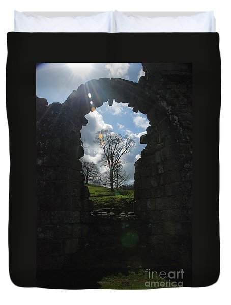Fountains Abbey Duvet Cover
