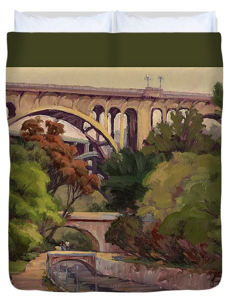 Four Bridges Duvet Cover