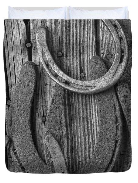Four Horseshoes Duvet Cover