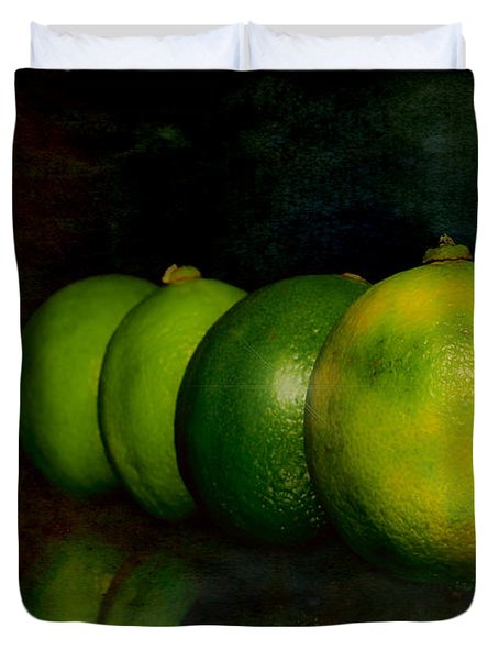 Four Limes Duvet Cover