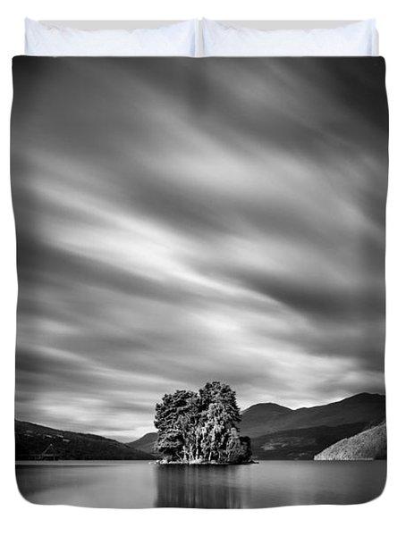 Four Rocks Duvet Cover by Dave Bowman